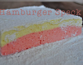 Hamburger-Speck