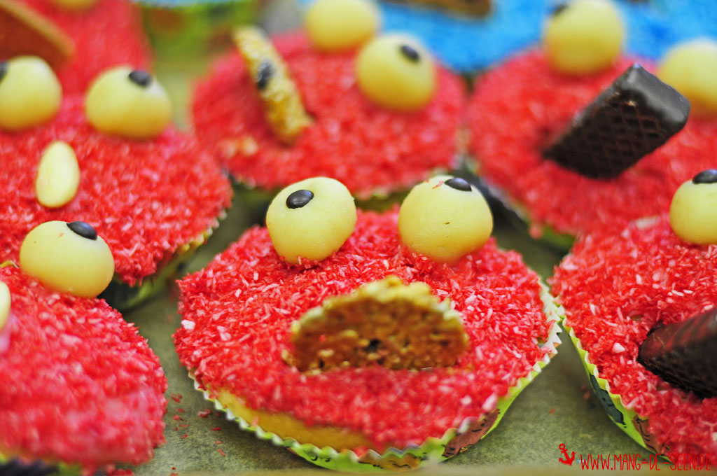 Rote-Monster-Muffins