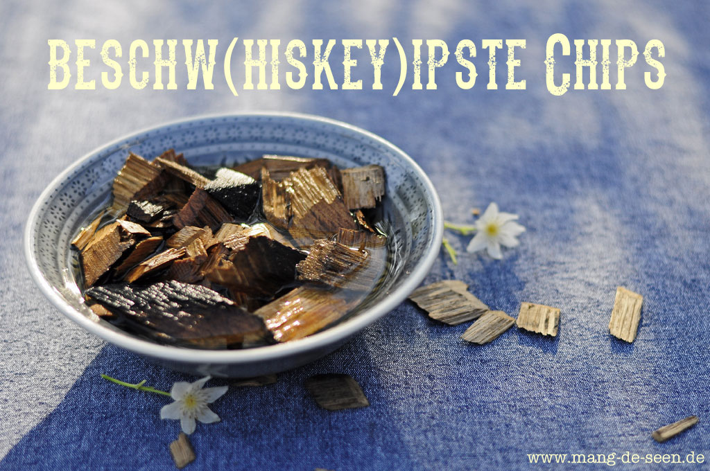 räuchern mit dem Webergrill Smokingchips in Whiskey