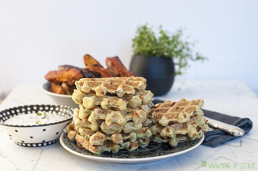 zucchiniwaffel