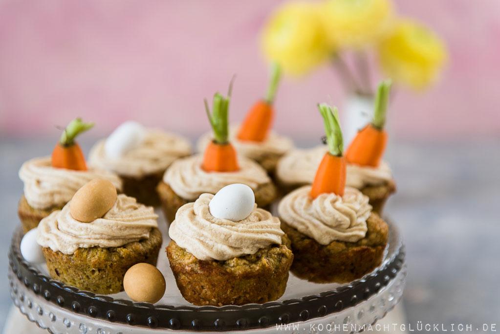 Rezept für Rübli-Cupcakes