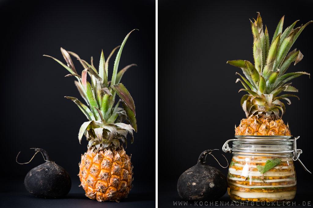 Rezept für Rettichpuffer und Rettich-Ananas-Pickles