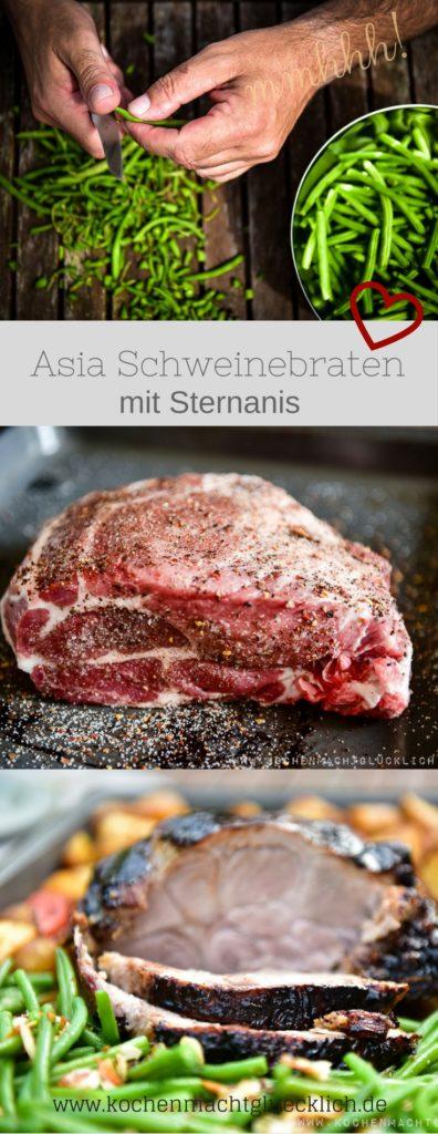 Asia Schweinebraten mit Sternanis