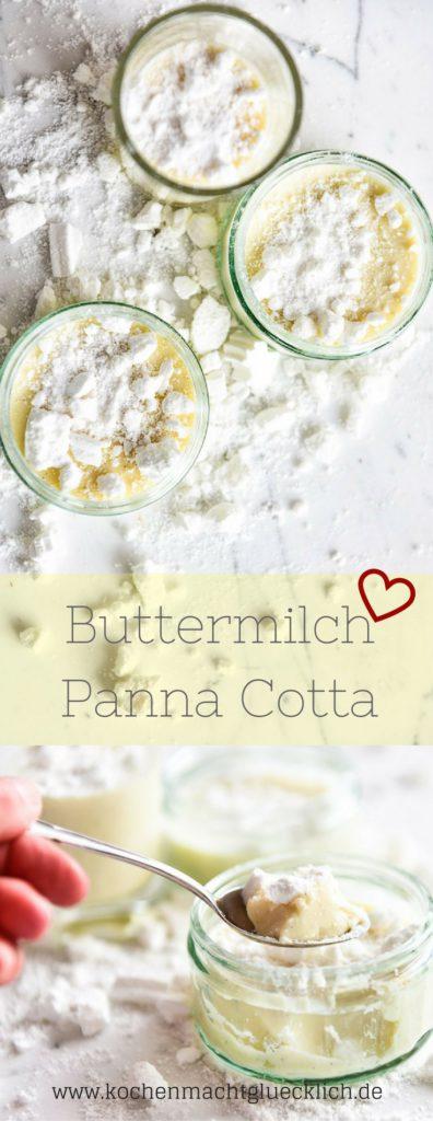 Buttermilch Panna Cotta
