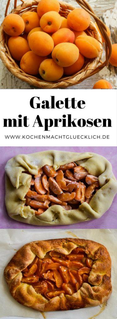 Galette Aprikosen Rezept Pinterest