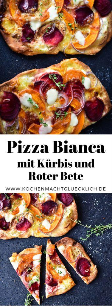 So bereitest Du Dir ganz einfach eine köstliche Pizza Bianca zu. Das Rezept findest Du auf meinem Blog.