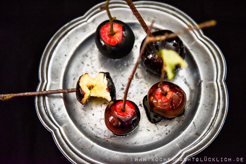 Rezept für Halloweenäpfel