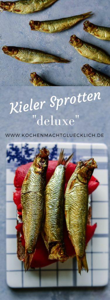 Kieler Sprotten auf Sauerteigbrot mit gebackener Paprika - ein Gedicht!