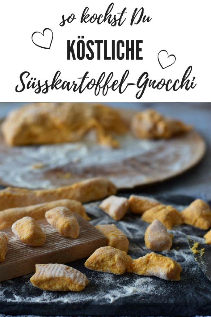 Süßkartoffel Gnocchi einfach und lecker
