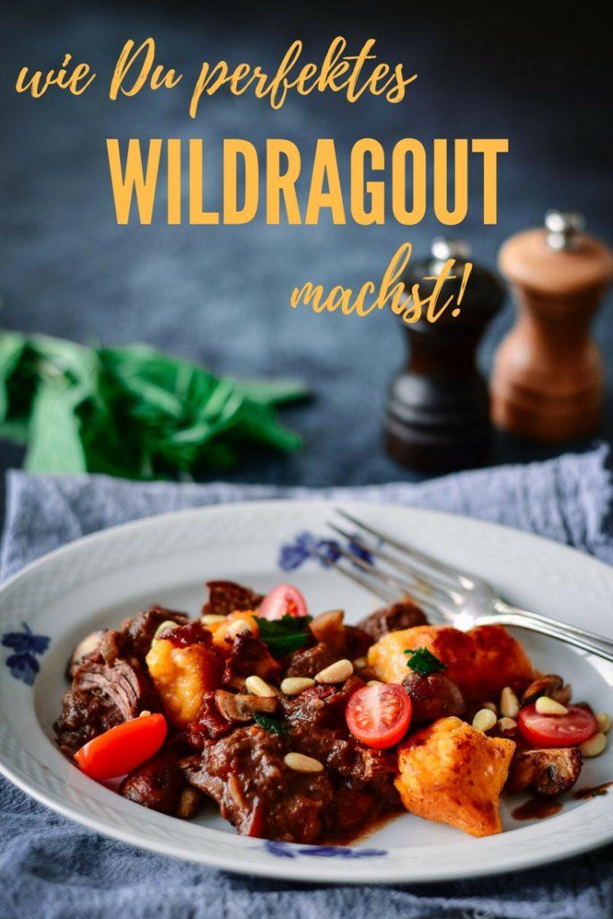 Ein einfaches Rezept für ein perfektes Wildragout mit Lebkuchen