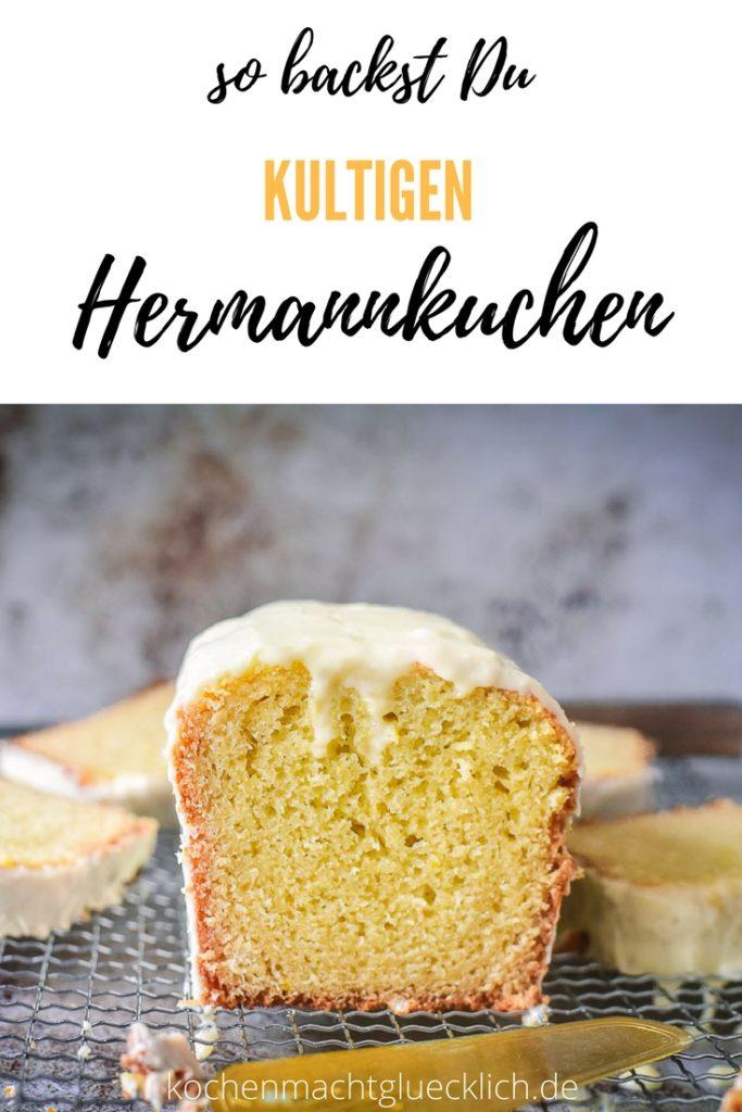 Der Kultkuchen aus den 80ern: Hermankuchen! Hier mit einem Rezept für Hermannkuchen mit Eierlikör. Absolut einfach mit einer tollen Schritt für Schritt Anleitung. Ausprobieren lohnt sich!