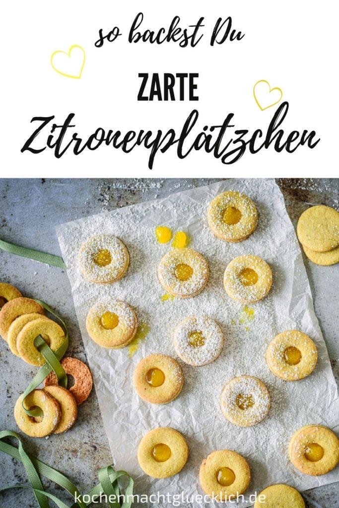 Zarte Mürbeteig Plätzchen schmecken immer! Hier findest Du ein einfaches Rezept.