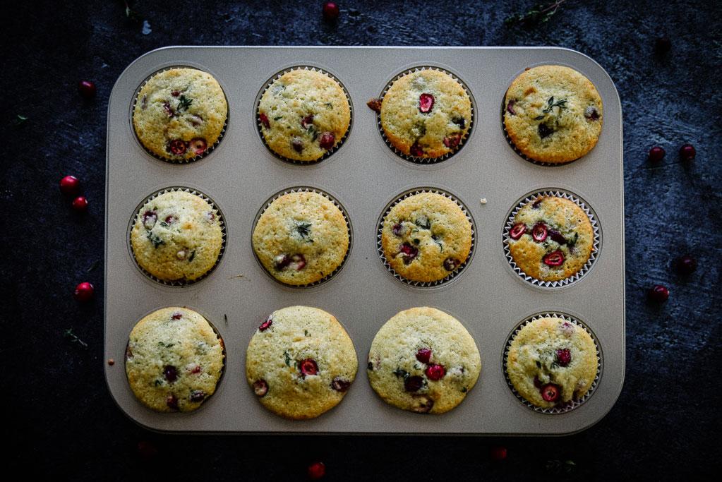 Cranberry Muffins Mit Buttermilch Einfaches Rezept
