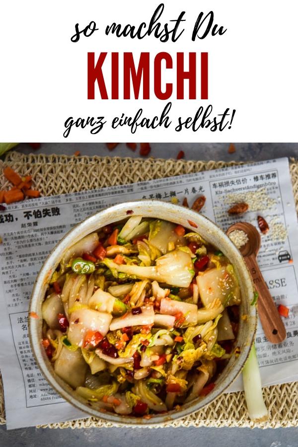 Hier findest Du ein tolles Rezept für Kimchi. Mit vielen Tipps für das Fermentieren