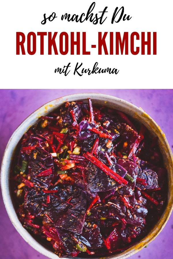 Rotkohl Kimchi