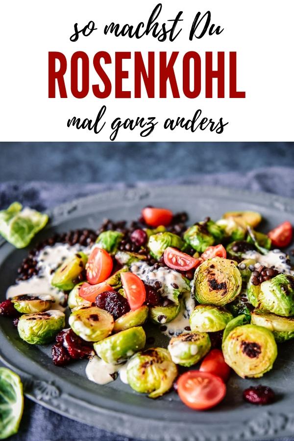 Rosenkohl ganz anders. Gebratener Rosenkohl ist eine leckere alternative und lockt sogar Rosenkohlhasser hinter dem Ofen vor. Das Rezept ist einfach toll!