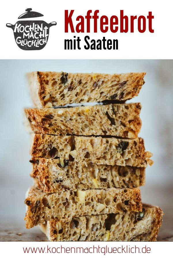 Rezept für leckeres Kaffeebrot mit Saaten