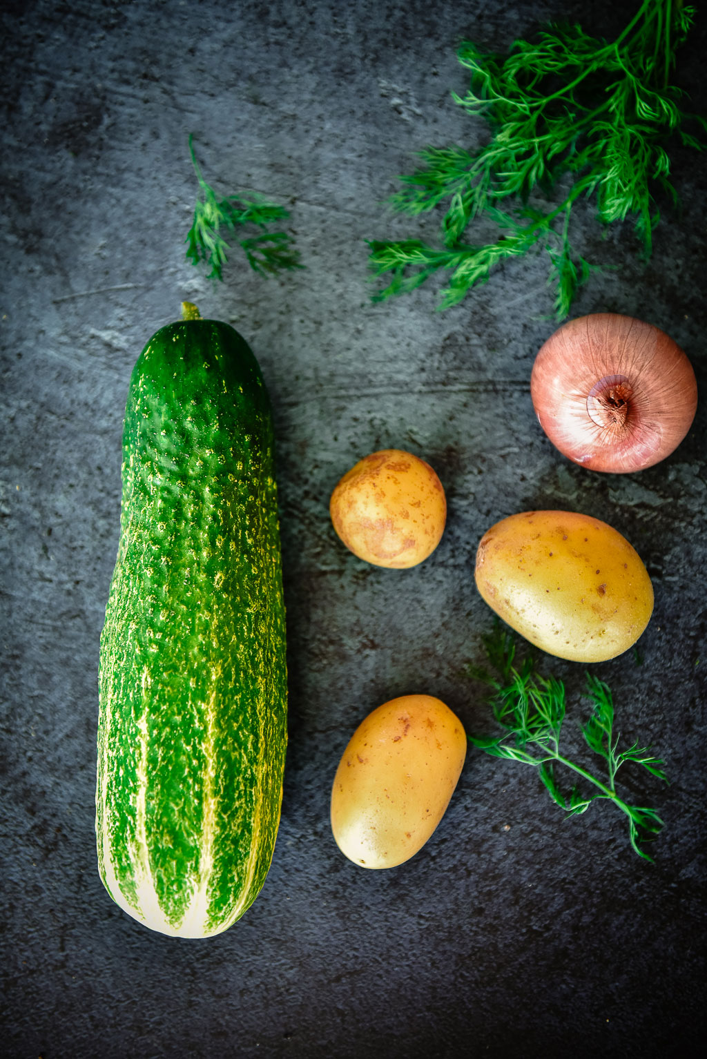 Grundrezept für Schmorgurken mit Hackfleisch und Dill