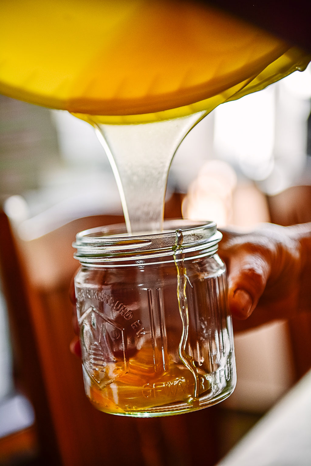 Honig-Ernte-Gut-Farve