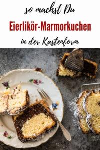 Pinterest Eierlikör-Marmorkuchen aus der Kastenform
